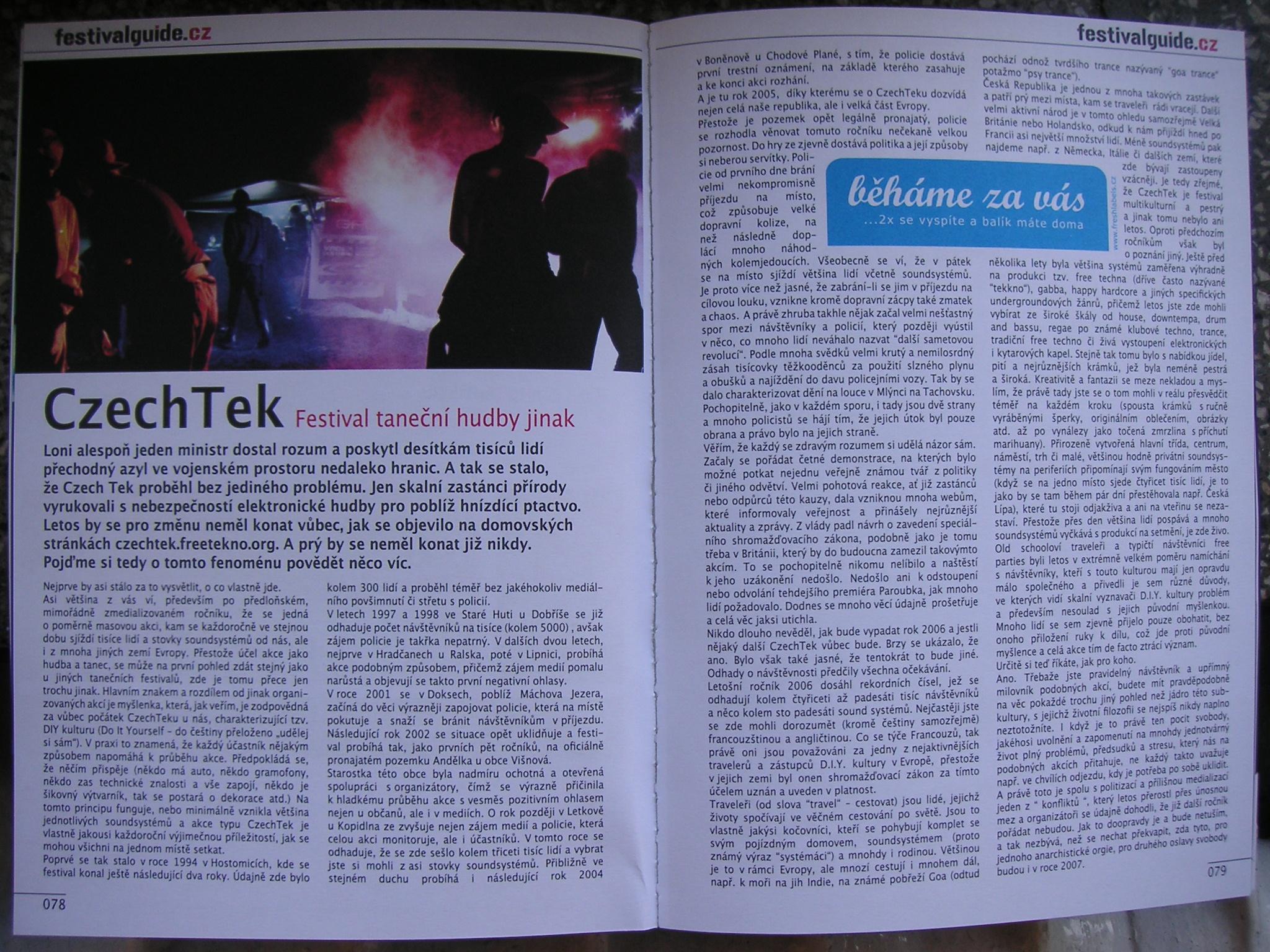 CzechTek (festivalguide.cz)